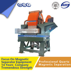 Durable Drum Type Magnetic Separator For Iron Ore , Easy To Block Up